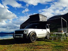Discovery 3 with ProSpeed rack and roof tent | ProSpeed UK | Flickr