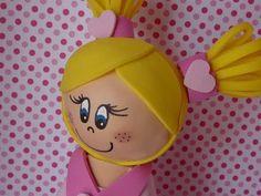 Cabeza/PASO 1 (Termoformar la cabeza de la muñeca de fomi) - YouTube