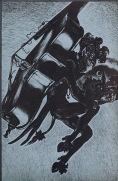 Edgar Allan Poe Illustration, Alberto martini