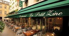 Located in the heart of Saint-Germain-des-Prés, just around the corner from Les Deux Magots and Café de Flore, Le Petit Zinc is old-world, classic #Paris at its finest.