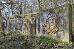 """Always On Guard""  Crumbling Communist Murals the Soviets Left Behind"