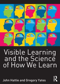 """""""Visible Learning and the Science of How We Learn"""" explains the major principles and strategies of learning, outlining why it can be so hard sometimes, and yet easy on other occasions. Aimed at teachers and students, it is written in an accessible and engaging style and can be read cover to cover, or used on a chapter-by-chapter basis for essay writing or staff development. The book is structured in three parts – 'learning within classrooms', 'learning foundations', and 'know thyself'. Latest Books, New Books, Teacher And Student Relationship, The Reader, Cognitive Psychology, Educational Psychology, Learning Psychology, Visible Learning, Learning Process"""