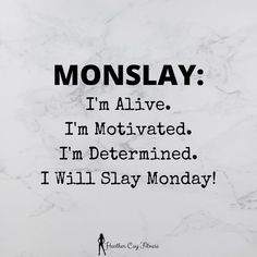 #happymonday #GoodMorning Are you ready for Monday? I guess I am, after all, I am alive. This is a new week and I am determined to make it a great week. Time for coffee and let's motivate. #newweek #newplan #coffeetime #MondayMorning #mornings #mondayvibes #greatweek #newday