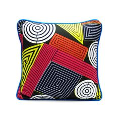 PRINT PILLOW - SHAPES on Etsy, $83.11