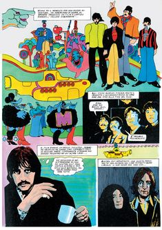 A Comprehensive Guide To The Beatles' Invasion Of Comic Culture