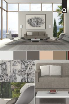 Fresco, tranquilo e iluminado, así luce un espacio decorado a partir de texturas lisas presentes en el tapizado de los muebles o el tapete; aplicar una paleta de colores neutros será una opción para complementar la decoración.