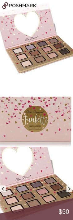 SALE Too faced funfetti makeup palette Two faced funfetti eyeshadow palette. Brand new never opened . 12 pretty colors Too Faced Makeup Eyeshadow