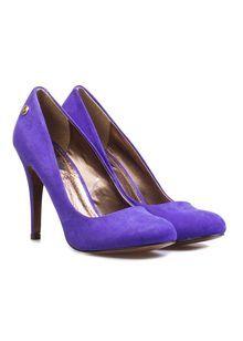 Szpilki BLINK fioletowe Peeps, Stiletto Heels, Peep Toe, Perfume, Shoes, Fashion, Moda, Zapatos, Shoes Outlet
