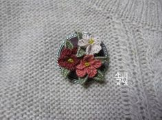 1번째 이미지 Embroidery Stitches, Hand Sewing, Elsa, Cross Stitch, Flowers, Jewelry, Leaves, Embroidery Ideas, Hand Embroidery