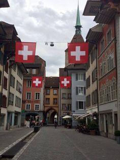 Rathausgasse Bern, Beautiful Landscapes, Countries, Trips, Street View, Travel, Switzerland, Viajes, Traveling