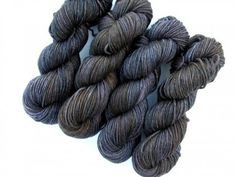 "DARK DAYS SERIES, ""GRANITE"" - MERINO WORSTED"