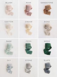 color palette, color inspiration from Tono + co.