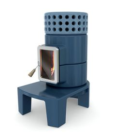 Stylish Wood Stoves - innovative stove design Stack