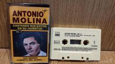ANTONIO MOLINA. CANTANDO SUS ÉXITOS EN SU JUVENTUD. MC / EMI - 1992 / LUJO.