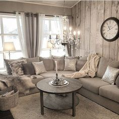 Shabby chic living room furniture ideas decorate style resourceful and clas Rustic Farmhouse Living Room, Curtains Living Room, Rooms Home Decor, Home Decor, Shabby Chic Decor Living Room, Living Room Decor Rustic, Living Decor, Shabby Chic Living, Chic Home Decor