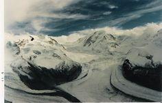 Gornergrat, Switzerland, 1990 (scanned from my prints)
