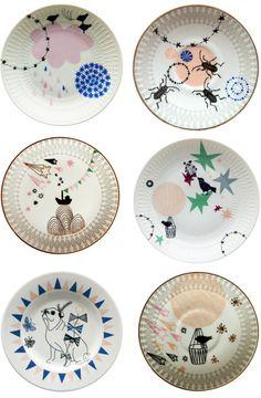 cute plates