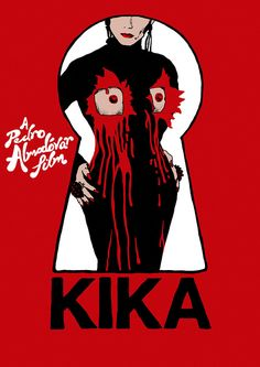 "071 ""Poster by The Church Of London"" / Kika (1993) / #Almodovar"