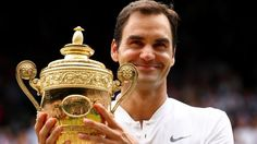 #Federer #makes history, takes home #record eighth Wimbledon...