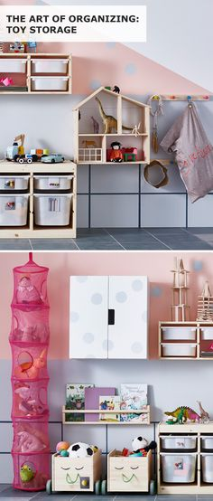 Feeling like toys are everywhere in your home? They can be tamed! Click to check out IKEA ideas for toy storage organization. Interior design by Emma Parkinson. Digital design by Annie Svensson. Copywriting by Vanessa Algotsson. Photography by Sandra Werud. Editing by Linda Harkell.