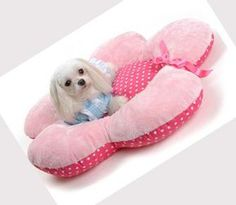 Cute Flower Dog Bed