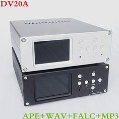 Breeze Audio  DV20A Digital Turntable USB/SD/APE/FLAC/WAV Lossless Player 3.5'' IPS/TFT/LCD Display AK4495+MUS8820(8920) #Affiliate