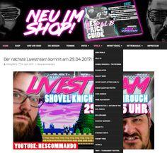 Neues auf der Homepage!