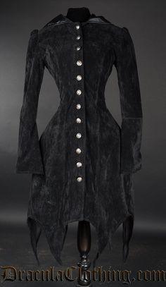 Velvet Witch Coat