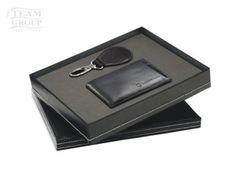 Set de llavero gota y billetera negra Gota, Office Supplies, Key Fobs, Stationery
