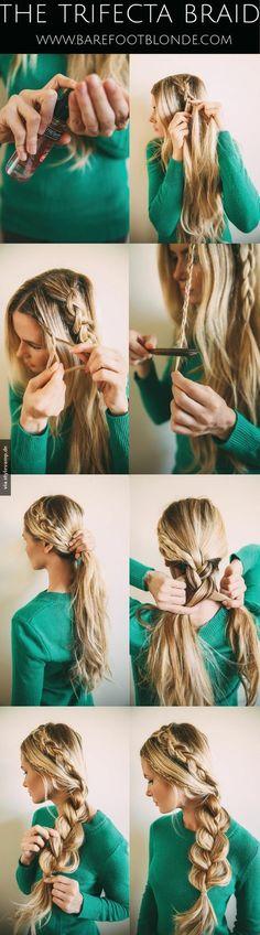 Die schönste Frisur, die ich je gesehen habe!