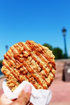 Caramel Apple Oatmeal Cookie at Disney World