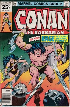Conan the Barbarian 65 August 1976 Issue  Marvel by ViewObscura