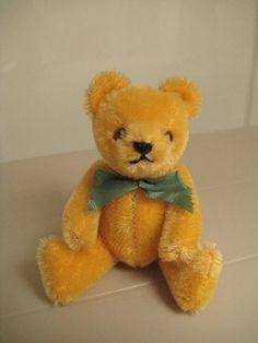In my ETSY Shop: Hermann Vintage Teddy Bear ~ Born in the 1980s  ~ So Cute!