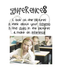 Inferring with pictures freebie and David Shannon books Speech Therapy Activities, Speech Language Pathology, Reading Activities, Speech And Language, Language Arts, Comprehension Strategies, Reading Strategies, Reading Skills, Reading Comprehension