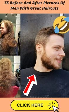75 Before And After Pictures Of Men With Great Haircuts Great Haircuts, Haircuts For Men, Short Hair Ponytail, World 2020, Funny Memes, Funny Pins, Before And After Pictures, Sunny Days, Erotic