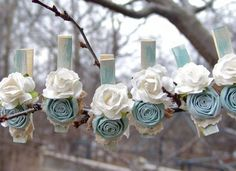 ArtsforHome - can see these being made with the gorgeous Artiflax roses