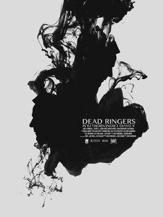 """""""Dead Ringers"""", psychological drama film by David Cronenberg (Canada, 1988)"""