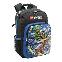 LEGO Ninjago Team Charge Heritage Classic Childrens Backpack Blue ** You can get additional details at the image link. Best Kids Backpacks, Boys Like, Lego Ninjago, Travel Style, Best Sellers, Disney, Classic, Blue, Vacation Ideas