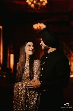 Sikh Bride, Sikh Wedding, Wedding Pics, Wedding Reception Makeup, Royal Blue Lehenga, Engagement Dresses, Wedding Dresses, Sabyasachi Sarees, Bridal Photoshoot