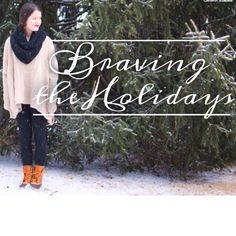 """Society tells us that because we are single, we are alone. God tells us that because we are His, we are never alone."""" The holidays can be a lonely time, but we've got good news, beloveds. The latest post on the site today is about braving the holidays -- with the One who will never leave you."""