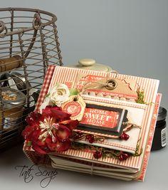 "Libro de Recetas para Postres "" Home Sweet Home"" A Recipe Book for favorite desserts."