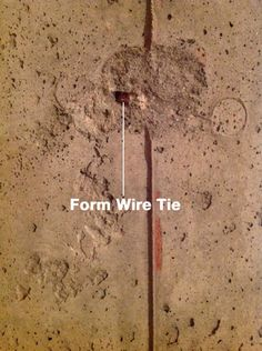 How To Waterproof Leaky Tie Rods In Basement Walls Using