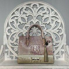 Brahmin Anywhere Convertible Handbag Lilac Whimsy Leather $325 | eBay Brahmin Handbags, Convertible, Lilac, Shoulder Strap, Dior, Leather, Ebay, Brahmin Bags, Infinity Dress