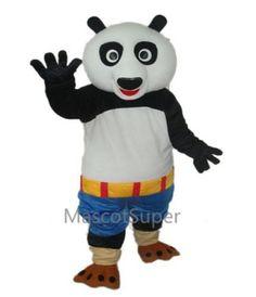 Kung Fu Panda Blue Shorts Mascot Adult Costume