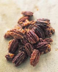 Crunchy Sweet and Spicy Pecans