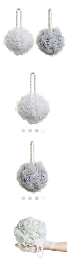 Bath Brushes and Sponges: Uviviu Super Soft Bath Sponge Greyandwhite -> BUY IT NOW ONLY: $34.48 on eBay!