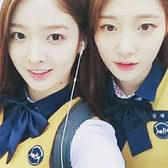 Eunjin & Chaeyeon