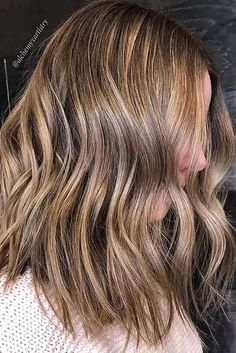 bronde babylights and textured style