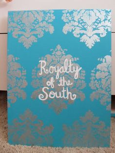 Sorority Inspired Paintings Customizable to Your Order