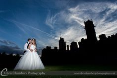 Carlton Towers Wedding Photography from http://www.chrischambersphotography.co.uk With the bride and groom outside Carlton Towers In Goole